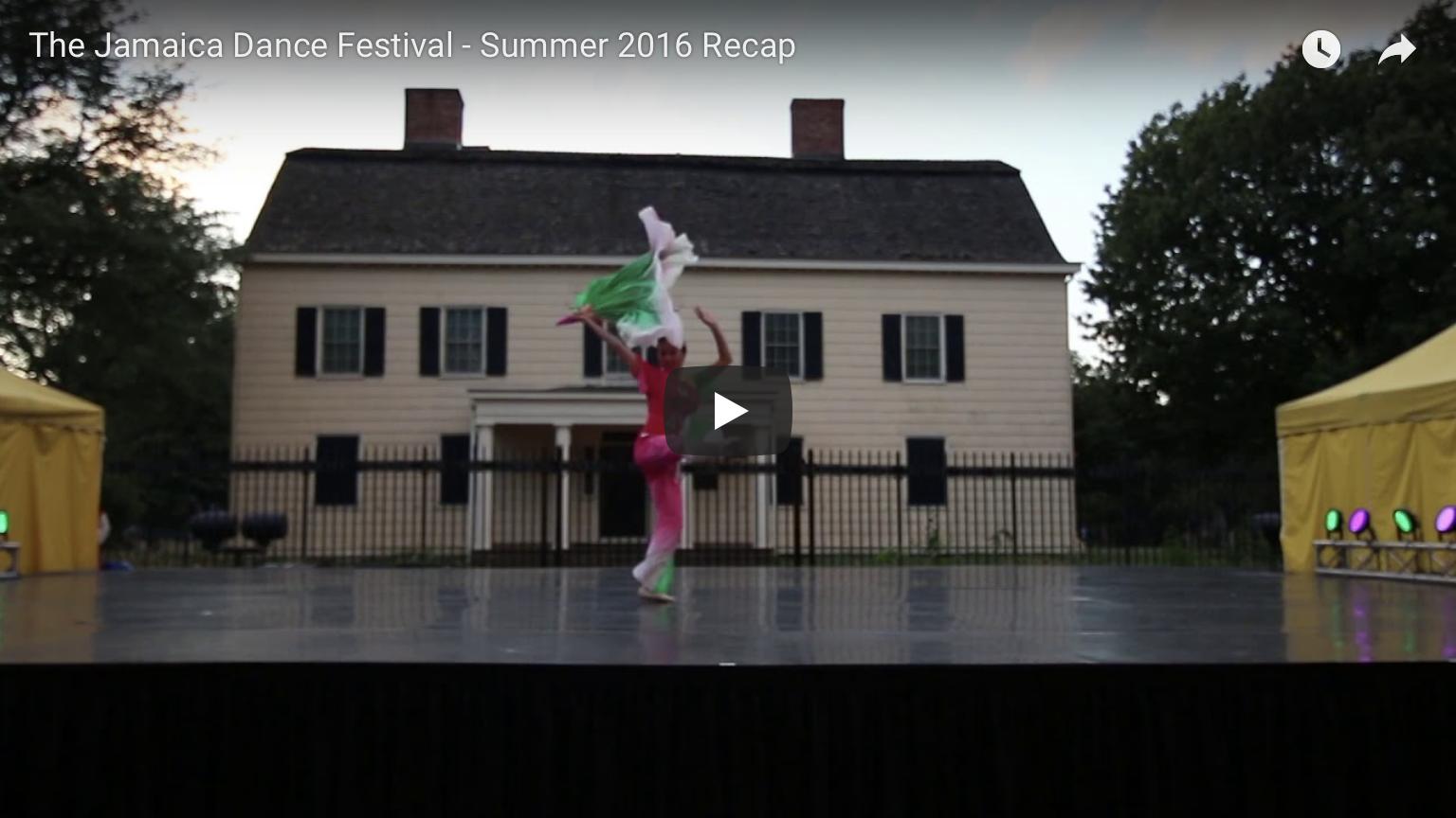 2016 Dance Festival Highlights